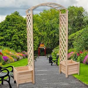 arche de jardin avec 2 bacs 224 fleurs pas cher