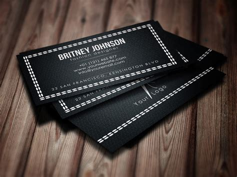 fashion design business cards templates free fashion designer business card psd free