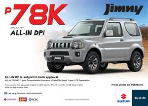 Jimny Suzuki Philippines Price Suzuki All In Dp Promo Suzuki Philippines