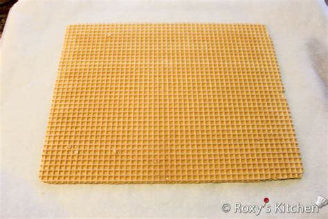 Kitchen Idea Pictures Wafer Sheets Filled With Caramelized Sugar And Walnut