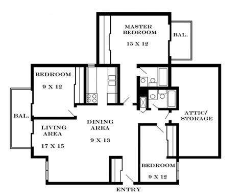 floor plan for 3 bedroom flat 3 bedroom flat plan on half plot house floor plans