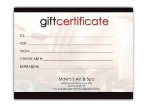 Office Gift Certificate Template by Doc Word Gift Card Template Free Gift Certificate