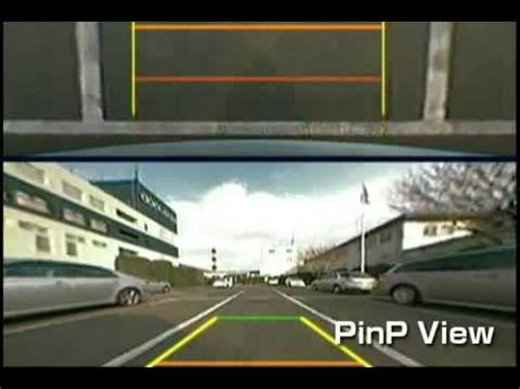 kenwood cmos 320 rear or front view camera youtube