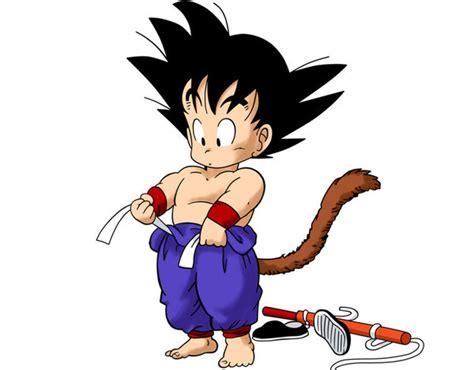 imagenes de goku chico dragon ball nace el primer ni 241 o espa 241 ol llamado goku