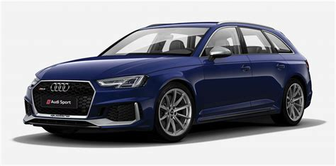 audi rs4 price new 2018 audi rs4 avant colour guide and prices stable