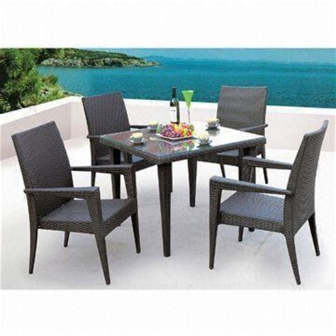 Cheap Patio Table And Chairs Sets Popular And Cheap Garden Furniture Patio Wicker Rattan Dining Table Set With 4 Chairs Global