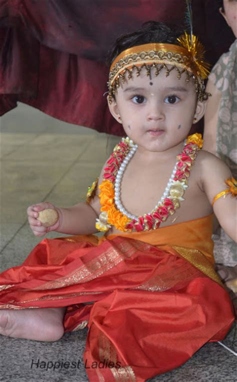 south indian dress for baby boy how to dress up krishna of your home happiest