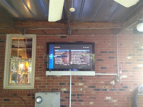 Outdoor Patio Tv Mounts by 40 Best Images About Outdoor Flat Screen Tv Wall Mounting