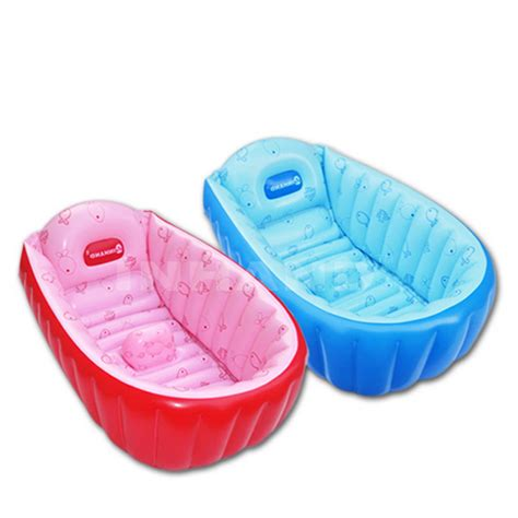 inflatable toddler bathtub summer portable large baby toddler inflatable bathtub