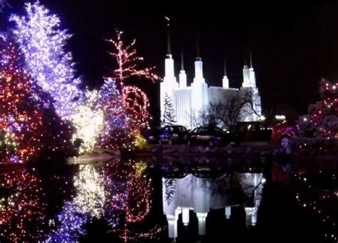 Mormon Newsroom On Instagram Lds Media Talk New Videos Mormon Temple Lights