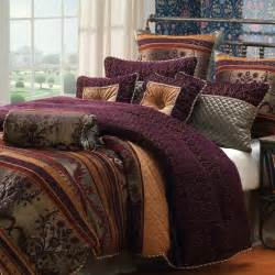 plum and gold bedding search project