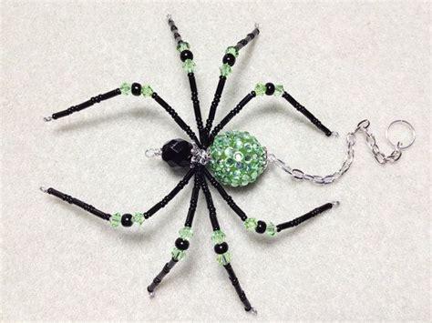 cadena de plata se hace negra katarina green and black glass beaded spider goth sun