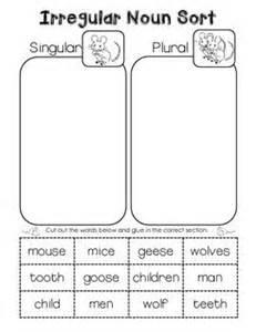 best 25 irregular plural nouns ideas on pinterest