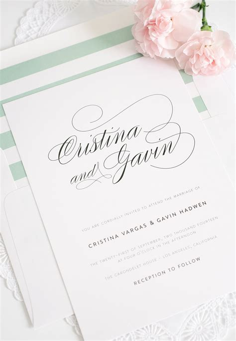 Simple Unique Wedding Invitations by Simple But Wedding Invitations Unique
