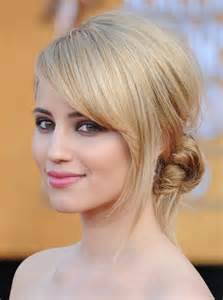 hair styles with swept fringe side swept bangs hairstyle trends for 2017 haircuts and