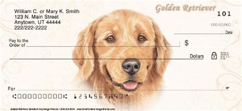 golden retriever personal checks golden retriever personal checks