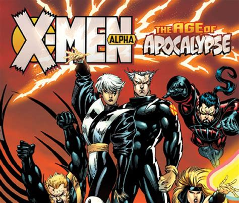 libro x men age of apocalypse x men age of apocalypse alpha trade paperback comic books comics marvel com