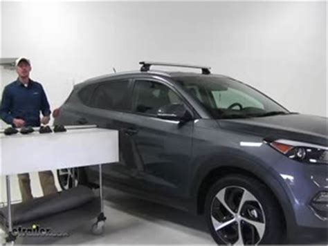 hyundai tucson roof racks thule fit kit for podium style foot pack 4062 thule roof