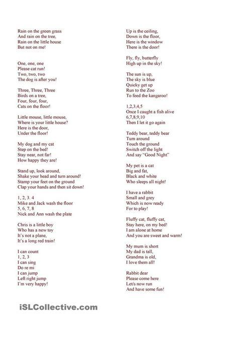 3 easy spanish short easy spanish poems to memorize howsto co