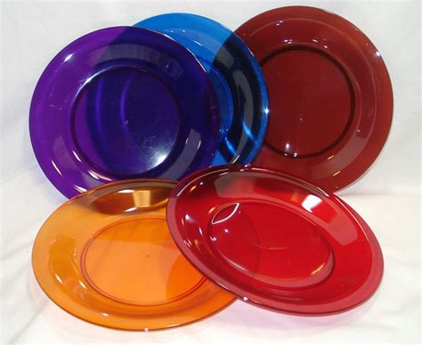 dinner dishes acrylic dinnerware cambridge plastic plate bowl and