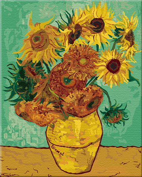 printable paint by numbers van gogh van gogh paint by number kits paint by number for adults