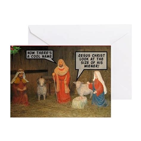 offensive nativity scene xmas greeting cards pk o by