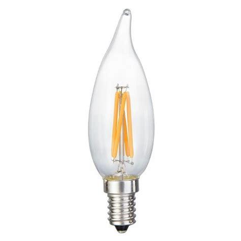 Led Chandelier Bulbs Energy Saving 6 Watt Led Filament Candelabra Light Bulb Dimmable Soft White 2700k