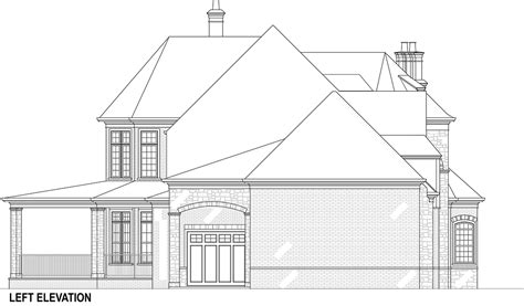 building plans for houses grand house plan with porte cochere
