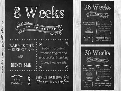 printable pregnancy to do list week by week all 17 printable file pregnancy chalkboard weeks from 1st