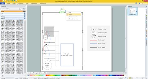 plumbing diagram software piping and instrumentation diagram software engineering feed