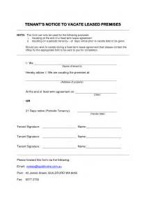 Letter To Vacate Property by Best Photos Of Tenant Notice To Vacate Form 30 Day Notice To Vacate Printable Form 30 Day
