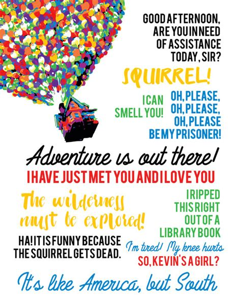film up quotes disney pixar up quotes with balloons
