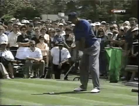 tiger woods old swing reliving the 1997 masters tiger woods 1st major