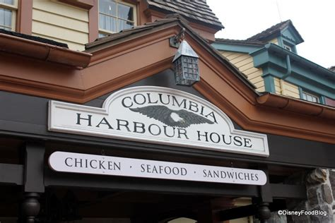 harbor house guest review new columbia harbour house menu in magic kingdom the disney food blog