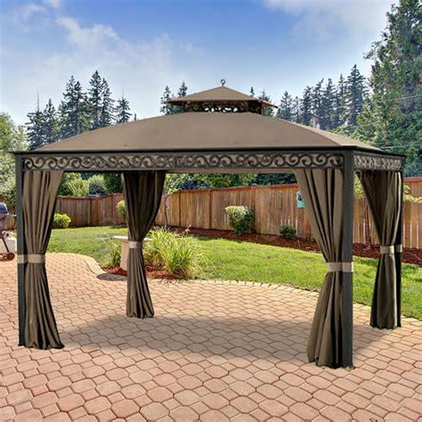 10 x 15 gazebo home depot canada gazebo replacement canopy cover garden