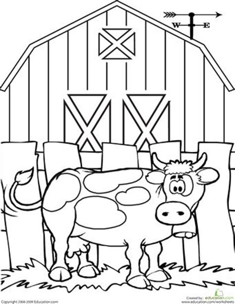 cow farm coloring page best 25 cow coloring pages ideas on pinterest free