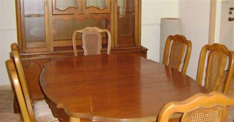 Antique Provincial Dining Room Set by Basset Provincial Dining Room Set 1950 S Dining
