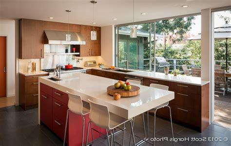 contemporary kitchen island legs mid century modern kitchens stunning mid century modern