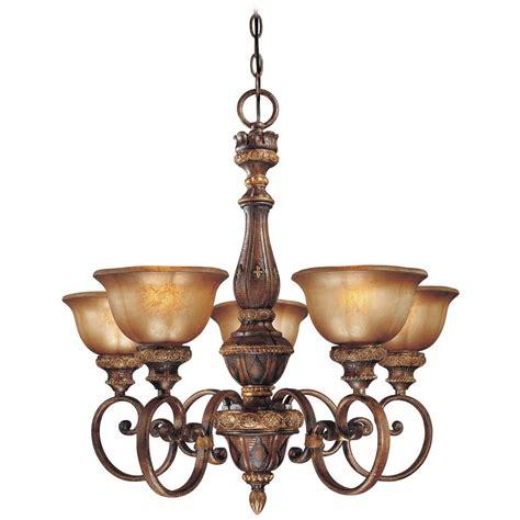 Brown Glass Chandelier Chandelier With Brown Glass In Illuminati Bronze Finish 1355 177 Destination Lighting