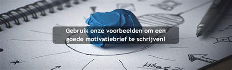 motivatiebrief conducteur motivatiebrief voorbeelden