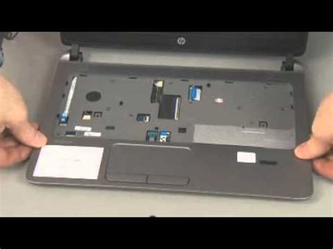hp probook 430 g2 notebook pc top cover removal youtube
