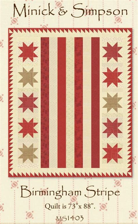 pattern maker birmingham 17 best images about quilting minick n simpson on