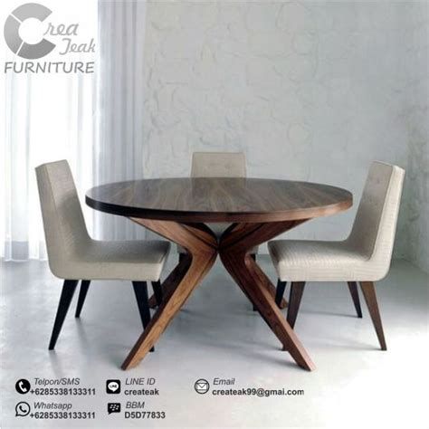 Meja Makan Ligna set kursi makan minimalis ligna createak furniture