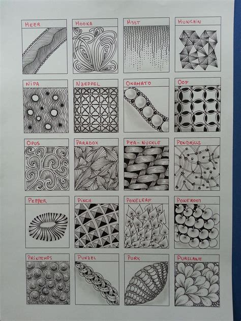 zentangle pattern wadical 1000 images about zentangle patterns on pinterest