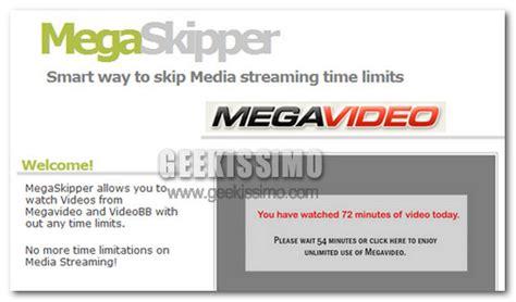 film gratis online senza account megaskipper guardare megavideo e videobb senza limiti di