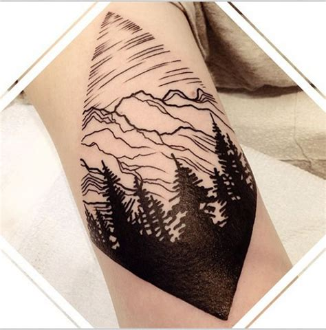 diamond nature tattoo 39 awesome tattoos for anyone who s happiest up