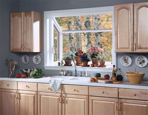 kitchen window ideas divine white oak kitchen cabinet set with white painted