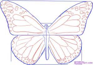 monarch butterfly template printable monarch butterfly template cliparts co