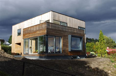 passive house 76 year old funkis home in norway gets a passive house makeover kebony syp passive