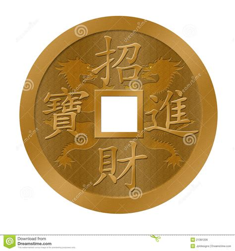new year coin template new year gold coin stock illustration